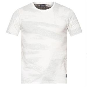 Custom Quality Creative Design Dresser Line Man′s T-Shirt of Round Neck pictures & photos