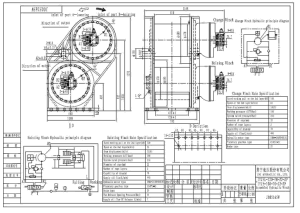 Ini Invention Patent Hydraulic Double Drum Pipe Layer Winch pictures & photos