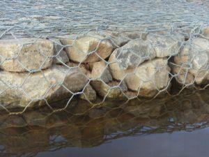 Woven Hexagonal Gabion Basket Mesh pictures & photos