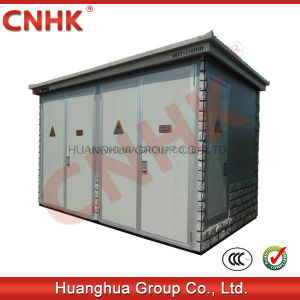 Intelligent Glazed Title Prefabricated Substation pictures & photos