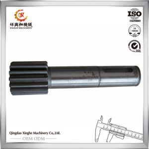 Steel Casting Carbon Steel Casting Machined Part Steel Gear Shaft pictures & photos