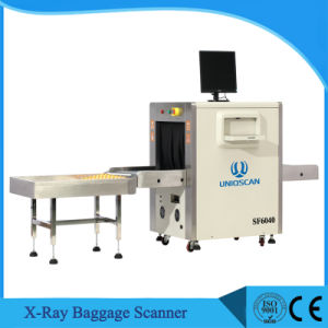 600*400mm Tunnel Size X-ray Baggage Scanner with 40mm Steel Penetration pictures & photos