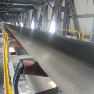 Large Angle Sidewall Belt Conveyor for Food Factory with ISO pictures & photos