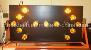 Long Distance Large Size Directional Flashing Traffic Arrow Board Sign pictures & photos