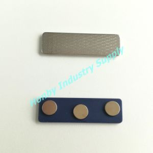 Magnetic Name Tag Holders with Three Neodyminum Magnets