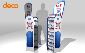 Paper Display Stand Store Exhibition Cardboard Display Stand pictures & photos