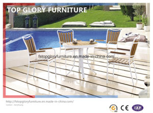 Outdoor Plastic Wood Aluminum Dining Sets (TG-1292) pictures & photos