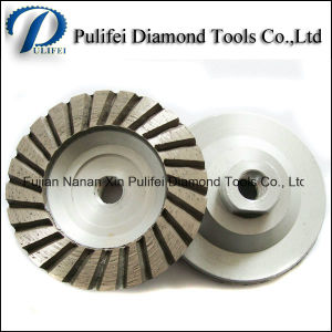 Concrete Floor Cutting Cup Disc 4′′ Diamond Segment Grinding Wheel pictures & photos