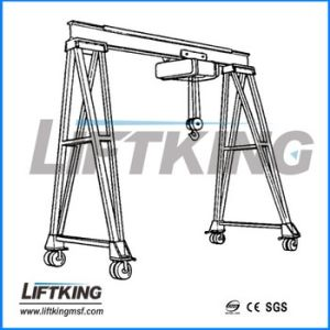 Electric Single Girder Mobile Gantry Crane pictures & photos
