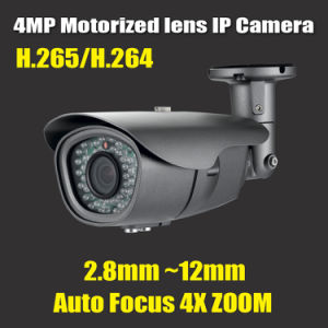 4MP 4X Optical Zoom Auto-Focus Motorized Lens Network IP CCTV Security Camera pictures & photos