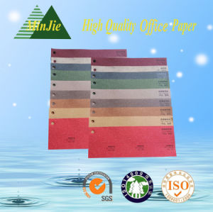 Custom Pattern Embossed Color Packaging Decorative Paper pictures & photos