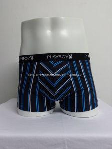 Cotton Spandex Boxer Mens Underwear Mauture Men Brief pictures & photos