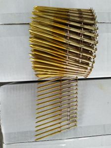 Q195/Q235 Sharp Point 3.1*90 Pallet Nails Roofing Nails Coil Nails pictures & photos