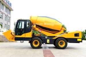 4.0 M3 Self Loading and Feeding Concrete Mixer Truck (HQ400) for Sale pictures & photos