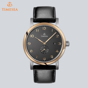 Luxury Brand Automaticmen′s Watch Genuine Leather Waterproof Casual Wrist Watches for Man Sport Relojes 72288 pictures & photos