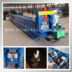 Rain Gutter Steel Profile Forming Machinery pictures & photos