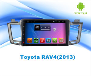 Android System Car DVD GPS Navigation for Toyota RAV4 10.1 Inch Touch Screen with Bluetooth/MP3/MP4 pictures & photos