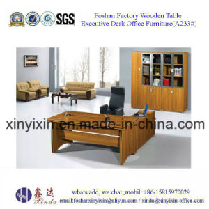 Melamine Executive Office Desk China Modern Office Furniture (A224#) pictures & photos