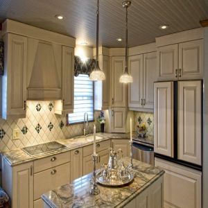 Decorative Materials Silk Roads Marble Kitchen Countertops pictures & photos