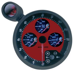 "5"" 4-in-1 Tachometer (8152BR) pictures & photos"