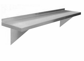 Stainless Steel Wall Shelf (SH-W)
