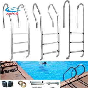 3-Step in-Ground Swimming Pool Stainless Steel Ladde pictures & photos