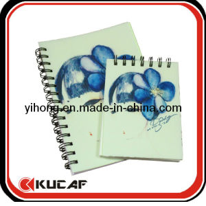 Latest Engraving PVC Cover Notebook with Spiral Binding pictures & photos