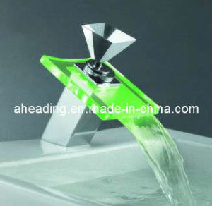 Single Handle LED Basin Mixer pictures & photos