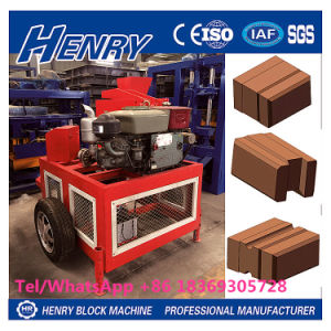 Hr1-20 Hydraform Clay Brick Making Machine Construction Machinery Brick Machine in Kenya pictures & photos