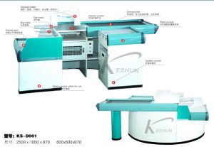 Checkout Counter with Belt (KS-D001)