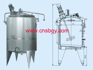 Sanitary Stainless Steel Seeding Tank (SB60)