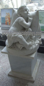 Garden Marble Statue for Garden Stone Sculpture (SY-X0155) pictures & photos