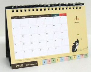 Calendar, Desk Calendar