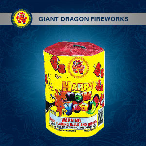 7 Shot Happy New Year Combination Fireworks Gdt143 pictures & photos