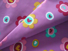 Polyerster Peach Skin Twill Fabric with Printing