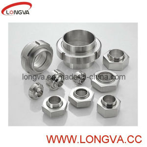 Sanitary Stainless Steel SMS DIN Pipe Fitting Union pictures & photos
