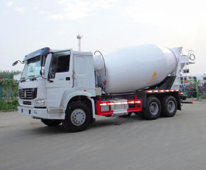 HOWO 6X4 336HP 10m3 Concrete Mixer Truck pictures & photos