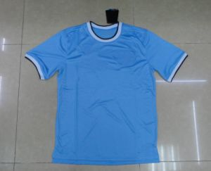 Free Shipping 2013 Hot Sale City Football Team Jersey Blue Football Club Jersey Dry Fit Top Quality Soccer Jersey pictures & photos
