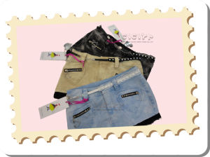 Lady′s Jeans Skirt