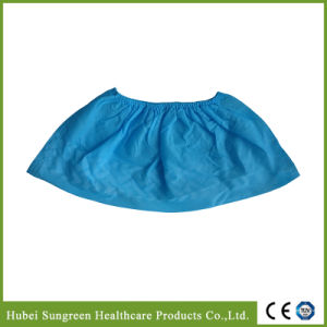 Machine Made Antiskid Disposable Non-Woven Shoe Cover pictures & photos