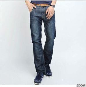 65% Cotton 35% Polyester Mens Blend Denim Jeans pictures & photos