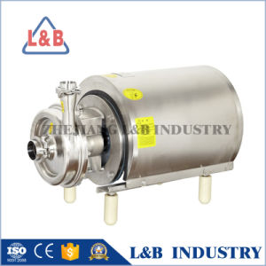 Food Grade Stainless Steel Milk Centrifugal Pump pictures & photos