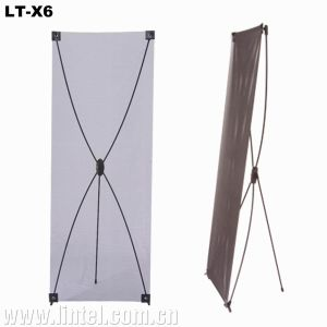 Portable X Shape Display X Banner Stands (LT-X6) pictures & photos
