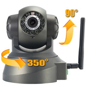 WPA Wireless WiFi IP Camera CCTV PT Webcam