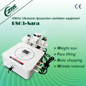 BS03 2016 Newest Ultrasonic Cavitation Body Slimming Machine pictures & photos
