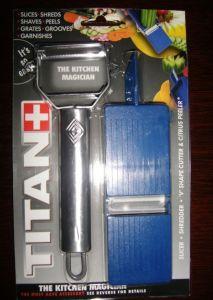Titan Peeler, Julienne Cutter, Garnishing Peeler (YK-8805)