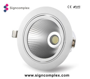 China Epistar Chip 120lm/W Rotatable COB LED Light Fixtures Residential pictures & photos