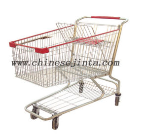 Asian Shopping Trolley, Hand Cart, Trolley Cart 80L (JT-EC02) pictures & photos