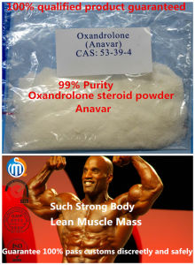 Anabolic Steroids Oxandrolone Anavar 53-39-4 pictures & photos