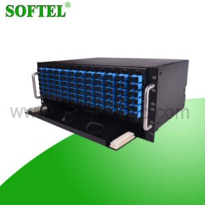 Fiber Optical 144 Core 4u Rack Mounted ODF pictures & photos
